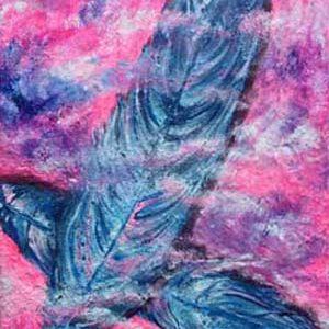 Målning fjädrar