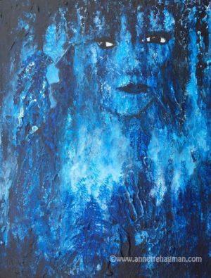 Bild målning Moonwalk