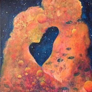 Healing the femine målning