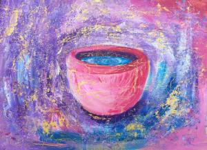 La Copa - målning i akryl